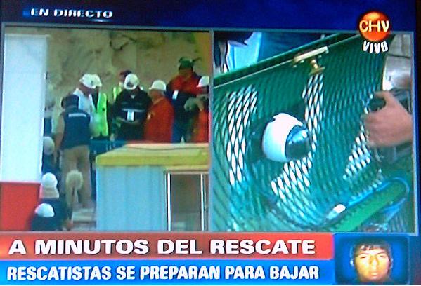 Vivotek en rescate de Mineros